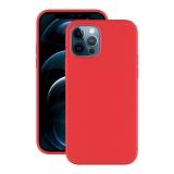 Чехол-накладка силикон Deppa Soft Silicone Case D-87766 для iPhone 12/ 12 Pro (6.1) Красный