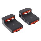 Переходник Baseus Armor Age Type-C Bracket 9в1 (CAHUB-AJOG) Type-C to USB3.0-3/ Type-C-3/ 4K HDMI/ RJ45/ Audio 3.5mm Графитовый
