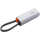Переходник Baseus Steel Cannon Series USB-A Gigabit Lan Adapter (CAHUB-AD0G) Графитовый