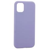 Чехол-накладка силиконовая K-Doo iCoat Liquid Silicone для iPhone 11 (6.1) Серо-лавандовый