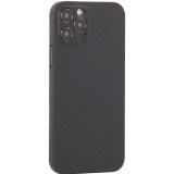 Чехол-накладка карбоновая K-Doo Air Carbon 0.45мм для Iphone 12 Pro (6.1) Черная