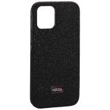 Чехол-накладка силиконовый со стразами Mutural для Iphone 12 mini (5.4) Черный
