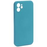 Чехол-накладка силиконовая J-case Creative Case Liquid Silica Magic Magnetic для iPhone 12 (6.1) Зеленый