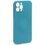 Чехол-накладка силиконовая J-case Creative Case Liquid Silica Magic Magnetic для iPhone 12 Pro Max (6.7) Зеленый
