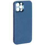 Чехол-накладка пластиковая GKS Design Creative Case с силиконовыми бортами для iPhone 12 Pro (6.1) Зеленый