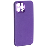 Чехол-накладка пластиковая GKS Design Creative Case с силиконовыми бортами для iPhone 12 Pro (6.1) Фиолетовый