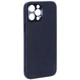 Чехол-накладка пластиковая GKS Design Creative Case с силиконовыми бортами для iPhone 12 Pro Max (6.7) Черный