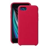 Чехол-накладка силикон Deppa Liquid Silicone Case D-87629 для iPhone SE (2020) 1.7мм Красный