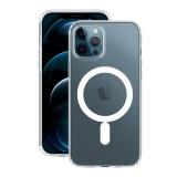 Чехол-накладка силикон Deppa Gel Pro Magsafe Case D-870060 для iPhone 12 Pro Max (6.5) 1.5мм Прозрачный