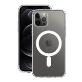 Чехол-накладка силикон Deppa Gel Pro Magsafe Case D-870059 для iPhone 12 / 12 Pro (6.1) 1.5мм Прозрачный