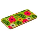 Чехол-накладка UV-print для iPhone 6s/ 6 (4.7) пластик (цветы) тип 58