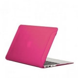 Чехол для Apple MacBook Air 11 BTA - Workshop матовый, цвет розовый