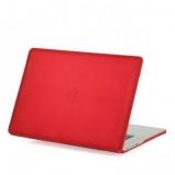 Чехол для Apple MacBook Pro Retina 15 BTA - Workshop матовый, цвет красный