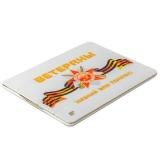Чехол-книжка кожаный Jisoncase Executive Print для iPad 4 / 3 / 2 JS-IPD-06 с рисунком (праздники) Ветераны: поклон Вам тип 002