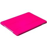 Кожаный чехол книжка для iPad Air 2 iCarer Litchi Pattern Series, цвет розовый